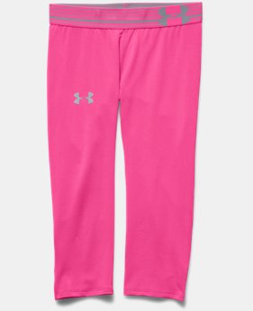 Girls' UA HeatGear® Armour Capri