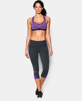 New to Outlet Women's UA Armour High Bra   $41.99