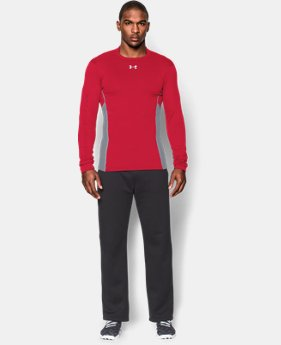 Men's UA ColdGear® Armour® Stretch Mock
