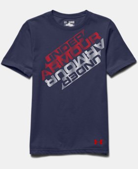 Boys' UA Mirror Wordmark T-Shirt