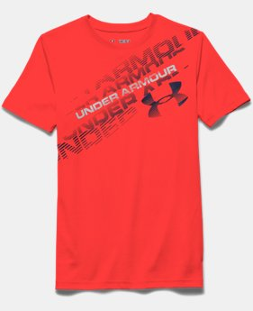 Boys' UA Back Spin T-Shirt