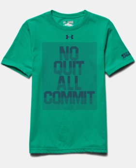 Boys' UA No Quit All Commit T-Shirt