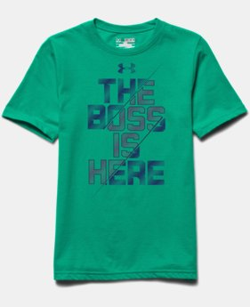 Boys' UA Boss T-Shirt