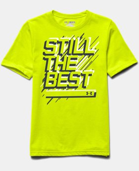Boys' UA Still The Best T-Shirt