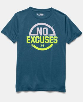 Boys' UA No Excuses T-Shirt