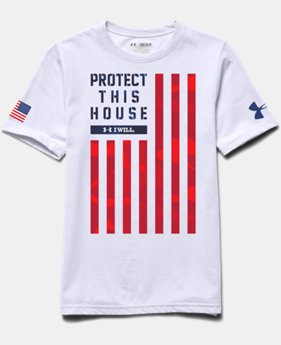 Boys' UA PTH® Flag T-Shirt