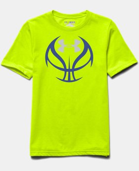 Boys' UA Hoops T-Shirt