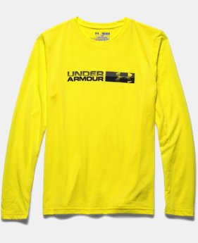 Boys' UA Back Stroke Long Sleeve T-Shirt