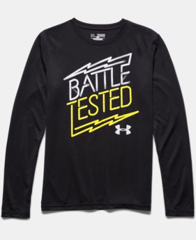 Boys' UA Battle Mode Long Sleeve T-Shirt