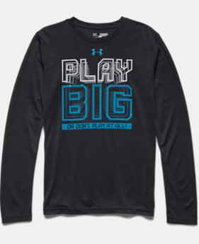 Boys' UA Play Big Long Sleeve T-Shirt