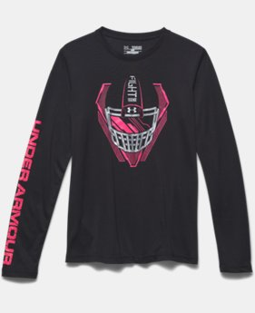 Boys' UA Power In Pink® Fight Helmet T-Shirt