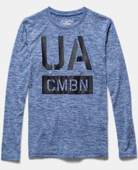 Boys' UA Combine® Long Sleeve T-Shirt