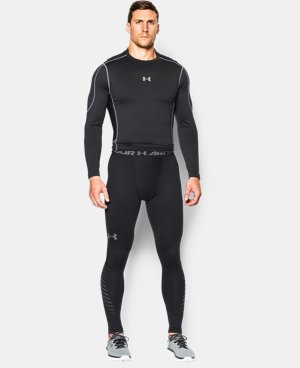 Men's UA ColdGear® Infrared Armour Compression Leggings LIMITED TIME: FREE U.S. SHIPPING  $59.99