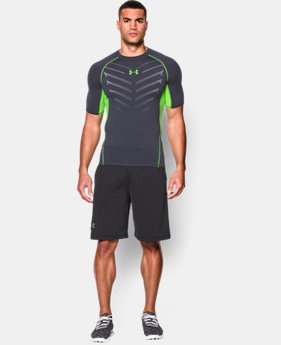 Men's UA HeatGear® Armour Exo Short Sleeve Compression Shirt