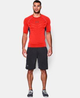 Men's UA HeatGear® Armour Exo Short Sleeve Compression Shirt  1 Color $20.24 to $26.99