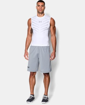 Men's UA HeatGear® Armour Exo Sleeveless Compression Shirt   $29.99