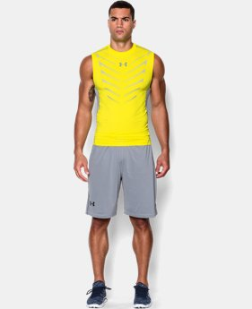 Men's UA HeatGear® Armour Exo Sleeveless Compression Shirt