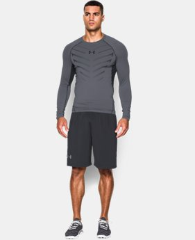 Men's UA HeatGear® Armour Exo Long Sleeve Compression Shirt LIMITED TIME: FREE U.S. SHIPPING 1 Color $29.99