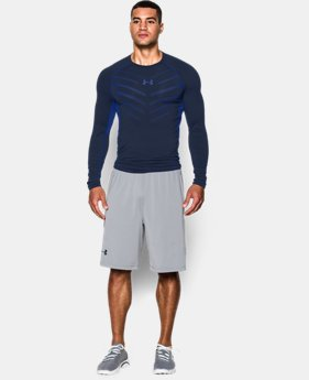 Men's UA HeatGear® Armour Exo Long Sleeve Compression Shirt