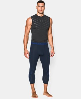 Men's UA HeatGear® Armour Exo ¾ Compression Leggings  1 Color $33.99