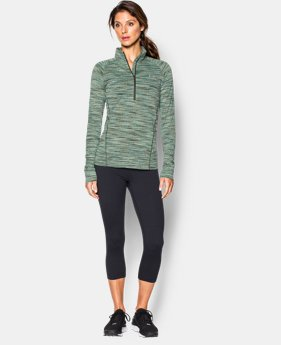 Women's UA Tech™ Space Dye ¼ Zip  1 Color $33.99