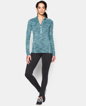 Women's UA Tech™ Space Dye ¼ Zip