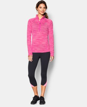 Women's UA Tech™ Space Dye 1/4 Zip  1 Color $26.99 to $33.99