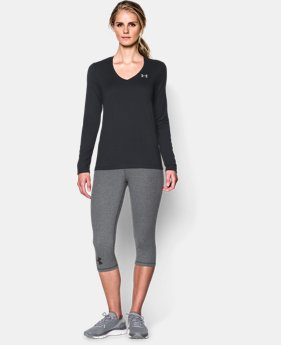 Women's UA Tech™ Long Sleeve  1 Color $15.74