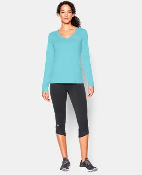 Women's UA Tech™ Long Sleeve  1 Color $17.99