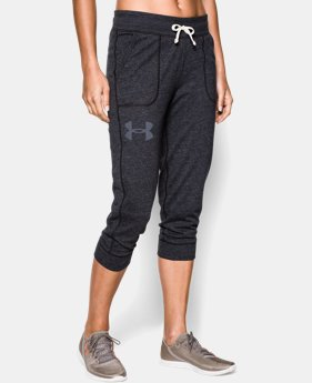 Women's UA Charged Cotton® Tri-Blend Capri  1 Color $26.99
