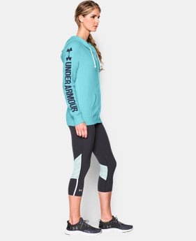 Women's UA Favorite Fleece  Word Mark Full Zip Hoodie LIMITED TIME: FREE U.S. SHIPPING 7 Colors $48.74
