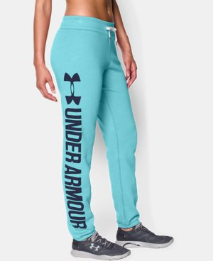 Women's UA Favorite Fleece  Word Mark Boyfriend Pant LIMITED TIME: FREE U.S. SHIPPING 1 Color $41.24