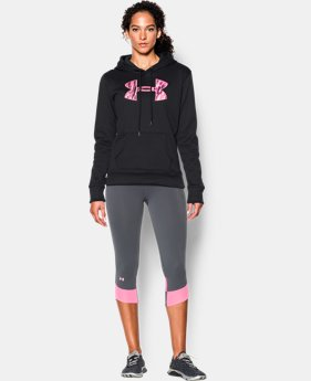 Women's UA Storm Armour® Fleece Printed Big Logo Hoodie LIMITED TIME: FREE U.S. SHIPPING 3 Colors $31.49 to $38.99