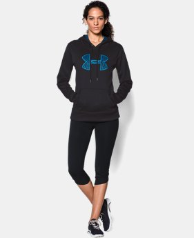 Women's UA Storm Armour® Fleece Printed Big Logo Hoodie  23 Colors $41.99