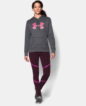 Women's UA Storm Armour® Fleece Printed Big Logo Hoodie  8 Colors $31.49