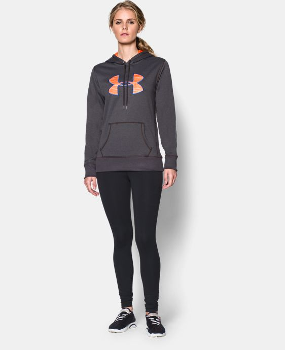 Women's UA Storm Armour® Fleece Printed Big Logo Hoodie  3 Colors $36.74