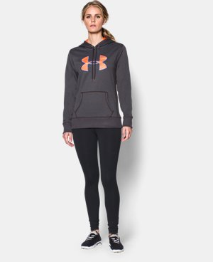 Women's UA Storm Armour® Fleece Printed Big Logo Hoodie  4 Colors $36.74