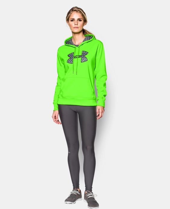 Women's UA Storm Armour® Fleece Printed Big Logo Hoodie LIMITED TIME: FREE U.S. SHIPPING 1 Color $31.49 to $41.24