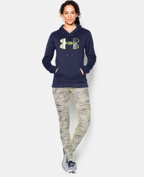 Women's UA Storm Armour® Fleece Printed Big Logo Hoodie  1 Color $31.49