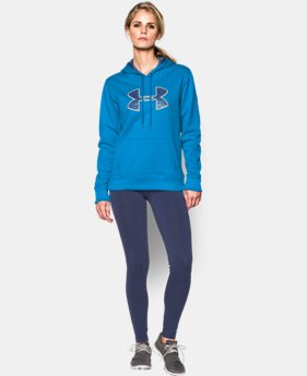 Women's UA Storm Armour® Fleece Printed Big Logo Hoodie  4 Colors $41.99