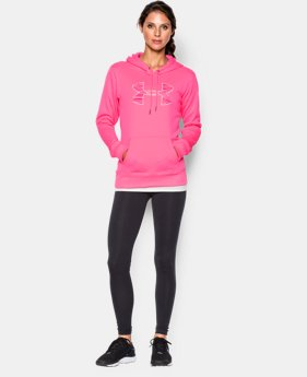 Women's UA Storm Armour® Fleece Printed Big Logo Hoodie