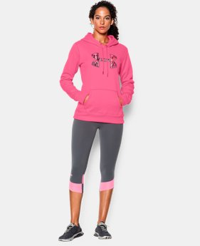 Women's UA Storm Armour® Fleece Printed Big Logo Hoodie  1 Color $36.74