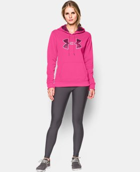 Women's UA Storm Armour® Fleece Printed Big Logo Hoodie LIMITED TIME: FREE U.S. SHIPPING 1 Color $31.49 to $38.99