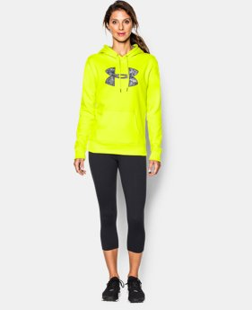 Women's UA Storm Armour® Fleece Printed Big Logo Hoodie  1 Color $31.49 to $41.99