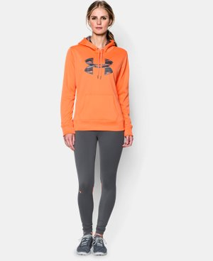 Women's UA Storm Armour® Fleece Printed Big Logo Hoodie  2 Colors $31.49