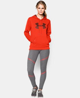 Women's UA Storm Armour® Fleece Printed Big Logo Hoodie   $31.49