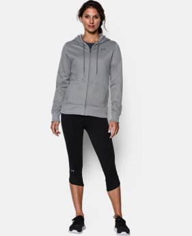 Women's UA Storm Armour® Fleece Full Zip Hoodie  2 Colors $41.99 to $52.99