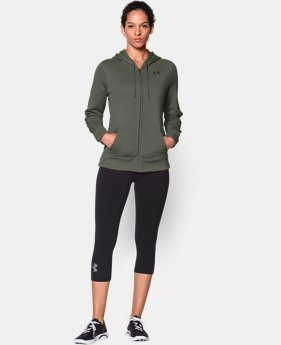 Women's UA Storm Armour® Fleece Full Zip Hoodie  1 Color $41.99 to $52.99