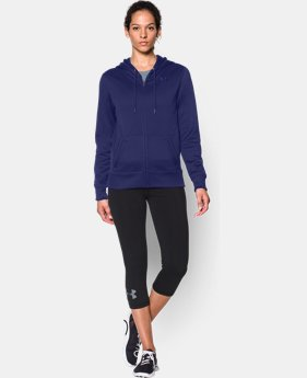 Women's UA Storm Armour® Fleece Big Logo Full Zip Hoodie LIMITED TIME: FREE U.S. SHIPPING  $39.74