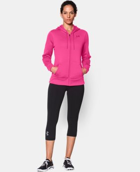 Women's UA Storm Armour® Fleece Big Logo Full Zip Hoodie